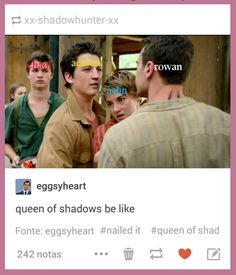Pretty accurate. Queen of Shadows