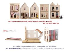 lillehuset_steps  Eco friendly doll house for kids.   It looks very much fun for adults too :-))