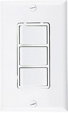 Leviton decora 15 amp 3 rocker combination switch white baomain triple rocker combination switch 15 amp 120 volt 3 individual switches commercial sciox Choice Image