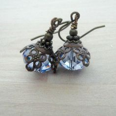 Hey, I found this really awesome Etsy listing at https://www.etsy.com/listing/125750242/swarovski-earrings-victorian-jewelry