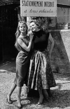 Brigitte Bardot in the 1956 Cannes Film Festival