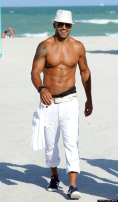 Shemar Moore....been hot for him since he was on the Young and the Restless!