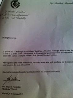 El Informal Segorbino: Falange Española de las JONS denuncia al alcalde d...