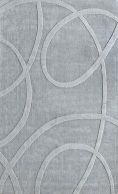 nuLOOM Gradient Loops Light Grey Rug & Reviews   Wayfair