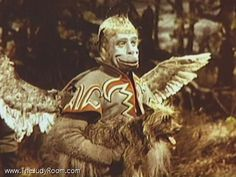 *FLYING MONKEY ~ The Wizard of Oz I want a pet one if only they were real they are sooo cute hahahah I know I am weird