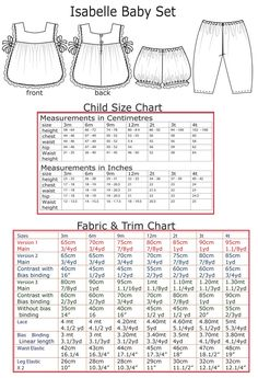 [](//www.pinterest.com/pin/create/button/) Baby and Toddler PDF Sewing Pattern. The Isabelle Baby Set is a lovely little outfit with a tabbard style top and matching bloomers or long pants. It can be adapted to all seasons. There are three versions included in the pattern and sewing tutorial.