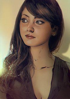 Portrait #003 by mehdic on DeviantArt