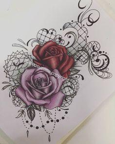 51 ideas for tattoo rose chest tatoo Rose Tattoo Thigh, Thigh Tattoos, Up Tattoos, Trendy Tattoos, Body Art Tattoos, Tattoos For Guys, Tattoos For Women, Sleeve Tattoos, Cool Tattoos