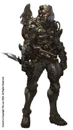 Mechanix, Warforged