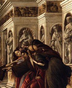 "renaissance-art: "" Sandro Botticelli c. 1494-1495 Calumny of Apelles (detail) """