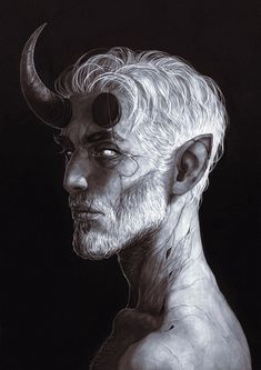 """wehavekookies: """"More about that sorcerer Otho. Fantasy Character Design, Character Design Inspiration, Character Concept, Character Art, Concept Art, Ange Demon, Demon Art, Dark Fantasy Art, Dark Art"""