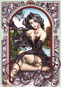 Full Metal Alchemist fanart of Lust Very well done :)