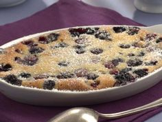 Mixed Berry-Almond Gratin Recipe | http://aol.it/1uClFvQ