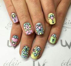 pastels, perfect, and nails