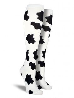 Mooooooo-ve out of the way, plain white tube socks. The deal you could get on these cool knee highs is utterly ridiculous.