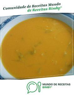 Receita Bimby® na categoria Sopas em www. Cantaloupe, Soup, Cooking Recipes, Fruit, Portugal, Check, Healthy Soup, Veg Soup, Sweet Recipes