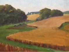 Autumn Fields, painting by artist Judith Anderson