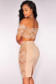 Yanlardan Transparan Vizon Elbise