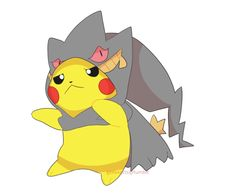 genesects:  Pikachu wanted to look scary but everyone said 'you look cute'