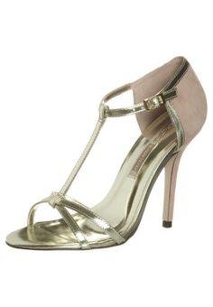 Sandali con i tacchi - oro