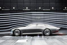 Mercedes IAA Concept - wind tunnel