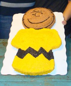The Charlie Brown cake I made a few years ago for Jo!! The best one I ever made then I retired! :)