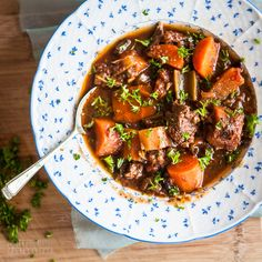 Slow cooker beef and tomato stew inspired by @nomnompaleo