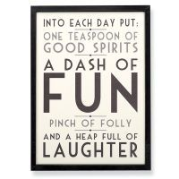Recipe for Happiness Print
