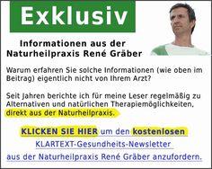 Der kostenlose Gesundheits-Newsletter von Heilpraktiker René Gräber