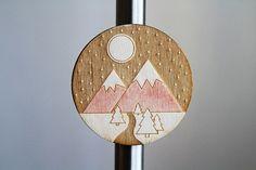 tourist magnet plywood от WorkshopLastochka на Etsy