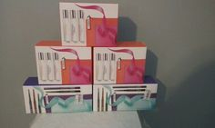 5 GIFT SETS LOT Clinique Happy On the Go and What's The Skinny EYELINER SET #Clinique