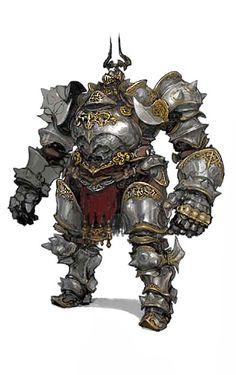 Heavy armor Knight | Fantasy Characters | Pinterest