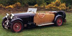 Bugatti Type 46; wicker