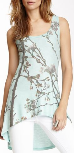 Scoop Neck Tank - Absolutely love this! The cut of the neck is perfect for me, and the hemline is so feminine!