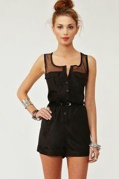 black dress look