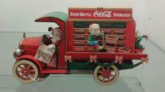 Coca Cola Truck Enesco RARE Santa Claus Coca Cola Truck Music Box | eBay