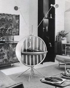 Sputnik Record Player. #recordplayer #turntable http://www.pinterest.com/TheHitman14/the-record-player-%2B/