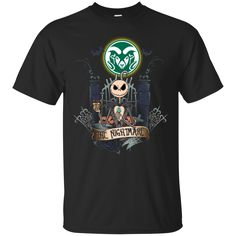 Halloween colorado state rams T shirts The Nightmare Hoodies Sweatshirts