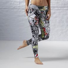 Reebok - Yoga Graffiti Collab Legging