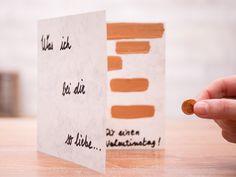 Tutorial DIY: Zrób walentynkową kartkę-zdrapkę przez DaWanda.com