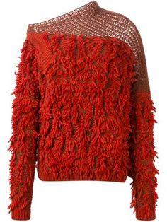A.F. Vandervorst 152 Tapas Fringed Sweater, $570; farfetch.com   - ELLE.com
