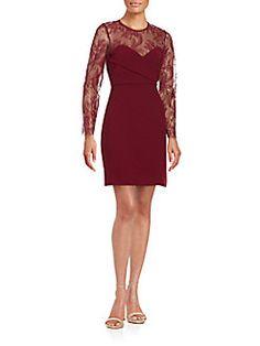 The Kooples - Illusion Lace Dress