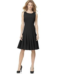 Calvin Klein Dress, Sleeveless Pleated A-Line (gotta find different colors/better price! Wow!)