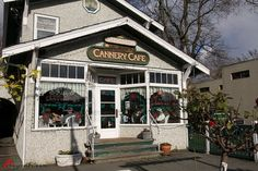 Cannery Cafe in Steveston, Richmond, BC.  Also known as Granny's Diner from Once Upon a Time.