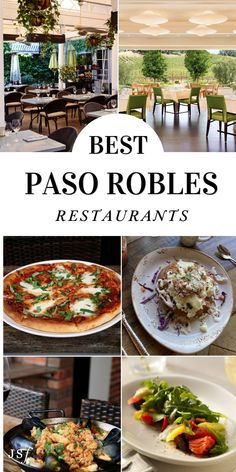 Calling all foodies! If you happen to find yourself in Paso Robles and are looking for a fabulous dining experience, check out my guide to Paso Robles Best Restaurants! With a variety of choices and different styles of cuisines, Paso Robles has a great selection for anyone and everyone. I hope you enjoy! California Restaurants, California Destinations, Wine Recipes, Mexican Food Recipes, Great Recipes, Wine Bistro, From Farm To Table, Organic Wine, Chips And Salsa