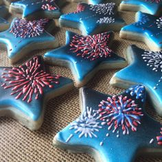 ... Cookies on Pinterest | Star cookies, Fourth of July and Cookies