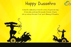 May this auspicious occasion of Dasara burn all the tension with Raavan and may this Dussehra bring bag full of prosperity, Success and happiness in your life and your Business. Wish you a very Happy Dasara!!!