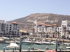 Mountain in Agadir, Morocco Places To See, Places Ive Been, Agadir Morocco, Seaside Resort, Sail Away, Being In The World, San Francisco Skyline, Egypt, Islands