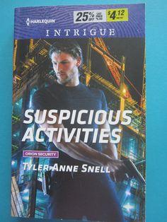 Harlequin Intrigue Suspicious Activities PB 2016