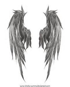 skull and wings tattoo - Yahoo Image Search Results